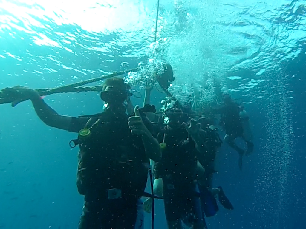 kohtao submarinisme. Curs Open Water Advanced